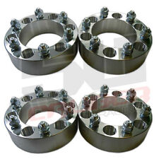 "Four 6x5.5 139.7 Wheel Spacers 2"" Thick 12mm Lug 4Runner Tacoma Tundra K5 Blazer"