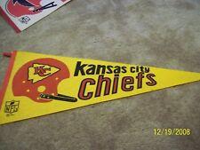 Kansas City Chiefs Vintage Football Pennant