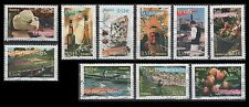 France 3192a-j Aspects of life in French regions (10 USED Stamps from sheet)