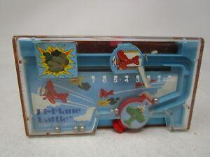 Vintage 1978 Tomy Pocket Game  DEXERITY GAME  *BI-PLANE BATTLE*
