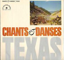 "PETE SEEGER / SONNY TERRY / B. McGHEE ""TEXAS"" FOLK BLUES 60'S LP"
