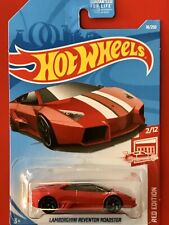 Hot Wheels 2019 Lamborghini  Reventon Roadster Target Red Edition - Paint ERROR