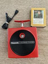 New ListingPanasonic 8 Track Player Red Rq-830S 1970s Dynamite Tnt Works Great