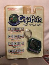 TIGER Giga Pets Floppy Frog 1997 Virtual Pet, Rare, NIB, No Stamp, 70-106