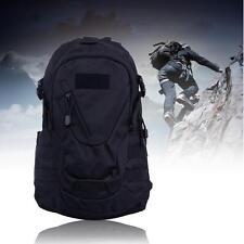 20L MOLLE Assault Pack Backpack Rucksack Military Cadet Army Bag Trek Black UP