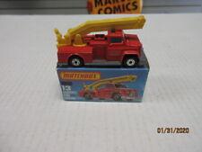 VINTAGE MATCHBOX #13 SNORKEL FIRE ENGINE IN K BOX.