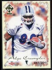 2001 Private Stock 103 Alge Crumpler Rookie 145/200