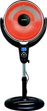 Optimus - Oscillating Digital Pedestal Heater - Black