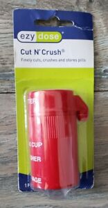 CUT N' CRUSH Pill Splitter And Crusher Ultra Fine Ezy Dose 67825
