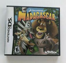 Nintendo DS DreamWorks Madagascar  complete CIB  NDS