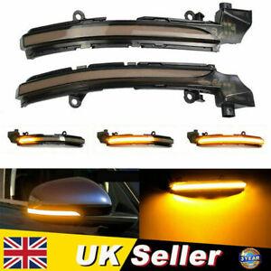 Dynamic Side Mirror Sequential Light For Jaguar XK-XJ -XF XE Range-2015 Onward