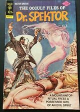 THE OCCULT FILES OF DOCTOR SPEKTOR. NO.18. GOLD KEY.  1975. BRONZE AGE. VFN/NM