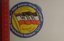 Aufkleber/Sticker: Wyker Dampfschiffs Reederei wir fahren Sie hin (24011753)