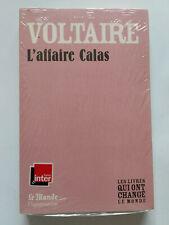 L'AFFAIRE CALAS 2009 VOLTAIRE LIVRES QUI ONT CHANGE MONDE NEUF