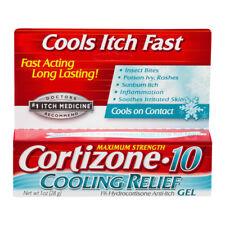 Cortizone 10 Maximum Strength Cooling Relief 1% Hydrocortisone Anti-Itch 1 Oz.