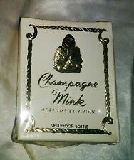 Champagne Mink Perfume Essence Vivian Of France Sealed 1 OZ