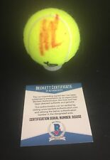 SEXY RUSSIA MARIA KIRILENKO SIGNED TENNIS BALL AUTHENTIC AUTOGRAPH BAS BECKETT