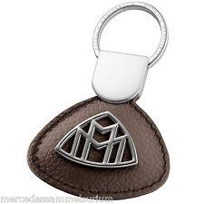 Mercedes Benz MAYBACH Original Portachiavi Nappa pelle Marrone nocciola