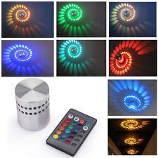 RGB LED 3W Effektlicht Wandlampe Wandleuchte Fernbedienung Deckenlampe Deko Heiß