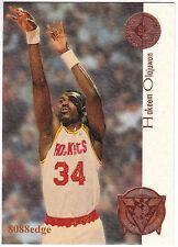 1994-95 SP CHAMPIONSHIP PLAYOFF HEROES: HAKEEM OLAJUWON #P8 ROCKETS MVP HOF