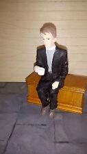 Poly resin Dolls house figure. Vicar