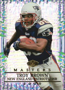 2000 Collector's Edge Masters Football Card #111 Troy Brown