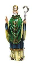 Statue St Patrick 6.5 inch Painted Resin Figurine Patron Joseph Studio Catholic