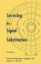 1953 Precision Apparatus E-200 Servicing by Signal Substitution Manual