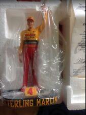 Hamilton Collection 1996 Sterling Marlin NASCAR Kodak Film Car 4 Figurine