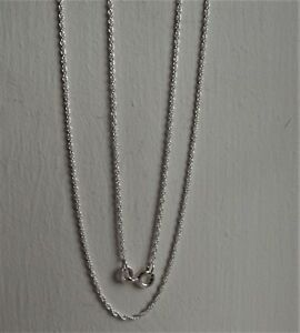 STERLING SILVER 925 PRINCE OF WALES ROPE CHAIN 51cm / 20 inches NEW QVC