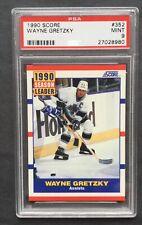 1990 Score #352 Wayne Gretzky PSA 9
