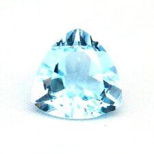 TOP TOPAZ  : 6,62 Ct Natürlicher Blau Topas Herz aus Brasilien