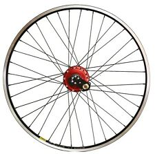 "28"" HR Rohloff Speedhub 8011 red Rim Mavic A719 V-Brake reinforced Spokes"