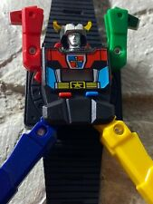 1985 Impulse Voltron Time Keeper Robot Watch Used. Untested