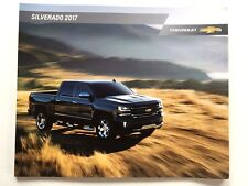 2017 Chevrolet Silverado Truck 52-page Original Car Sales Brochure Catalog