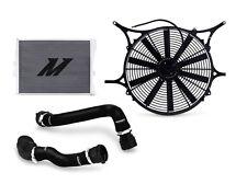 MISHIMOTO BMW E46 Non-M Performance Radiator+Shroud and Fan Kit+Hose BLACK