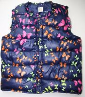 Unisex puffer kids vest for children reversible jacket girls size warm outwear