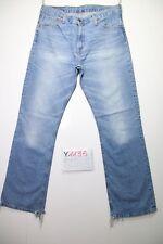 Levi's 507 bootcut (Cod.Y1135) Tg.47 W33 L34  jeans usato vintage