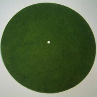 "11.5"" Light Green Edison Disc Phonograph Columbia Grafonola Turntable Felt"