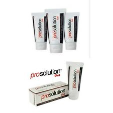 PROSOLUTION GEL STRONGER ERECTIONS PLEASURE 4 TUBES Add THICKNESS and GIRTH