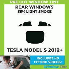 Pre Cut Window Tint - Tesla Model S 2012+ - 35% Light Rear