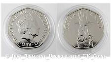 2019 Peter Rabbit Fifty Pence 50p Coin Brilliant Uncirculated BUNC BU UK