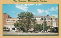 *(N)  Lawrence, KS - University of Kansas - Kansas Union - Exterior - Grounds