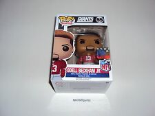 NFL ODELL BECKHAM, JR. Nueva York Giants Wave 3 POP Vinyl Figura de Funko