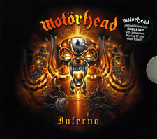 MOTORHEAD Inferno CD/DVD Germany Steamhammer 2004 Card Outer Slip Case With