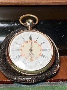Wunderschöne Alte Taschenuhr Gold 585, 73,37 Gramm