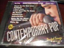 Pocket Songs Karaoke Disc Pscdg 1650 Contemporary Pop Cd+G Multiplex