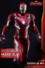 Hot Toys Iron Man Mark XLVI Mk46 Ca Civil War Figure 1/6 Pps003 Power Pose 2016