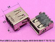 composant interne port USB 2.0 pour Acer Aspire 4810 5410 5810 TG T TZ TZ .C61.5