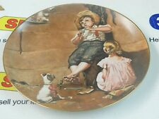 """NORMAN ROCKWELL PLATE """"MUSIC MASTER""""794/10000"""